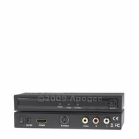 * Composite Video RCA or S-Video+R/L Audio to HDMI Converter (HDMICVRYW)