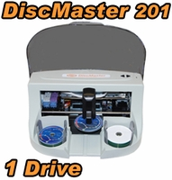 DiscMaster 201 Automated 1 Drive CD DVD Publisher + 100 Disc Kiosk Kit