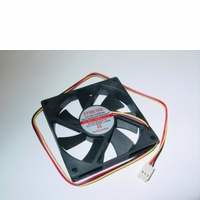 Evercool - EC8015M12CA - 80x15mm Med Speed Single Ball Bearing Fan