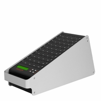 FlashMAX  (DM-ATS-FMAX39) 1 to 39 Target Portable USB Flash Drive Duplicator (Black/White)