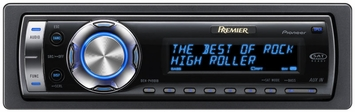 ***FREE SHIPPING* Pioneer DEH-P490iB In Dash CD/MP3 Player - Pioneer (DEH-P490iB) In-Dash CD/MP3/WMA Receiver with Remote and Built-in iPod Adapter and Controls Retail