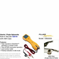 Harris Fluke Network 19800-001 TS19 Series Telephone Butt-in Test Set with ABN (Angled Bed-of-Nails)