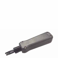 HT-334B Punch Down Tool with Cutting Blade inserts and cuts off one wire at a time for use with 110 Terminal