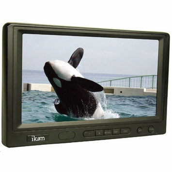 "ikan (V7000) 7"" Portable LCD Monitor with Built-in Speaker"