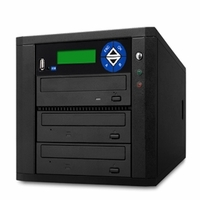 ILY (D02-SDSP) Spartan DUO SATA Duplicator - Support 1 to 2 Target, USB to Disc Duplication