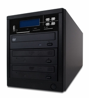 * ILY Spartan (MD-8002) MD-800 Pro Flash Memory Duplicator  - 1 to 2 Target Pro Multimedia Backup Center