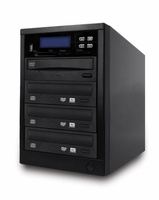 ILY Spartan (MD-8003) MD-800 Pro Flash Memory Duplicator - 1 to 4 Target Pro Multimedia Backup Center