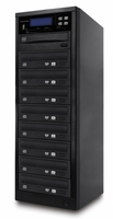 ILY Spartan (MD-8108) MD-800 Pro Flash Memory Duplicator - 1 to 8 Target Pro Multimedia Backup Center