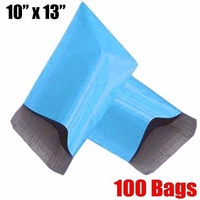 iMBAPrice® 100 - 10x13 Blue Color Poly Mailers Shipping Envelopes Bags (Total 100 Bags)