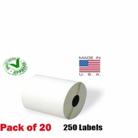 iMBAPrice® 20 Rolls of 250 (USA MADE) 4x6 Direct Thermal Label