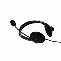 iMicro SP-IMTP331 Multimedia Stereo Headphone w/ Microphone