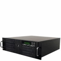 BestDuplicator (BD-RM-5T) 3U Rackmount 1-to-5 Target Duplicator with built-in 500GB HDD + USB Connection