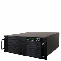 BestDuplicator (BD-RM-9T) 5U Rackmount 1-to-9 Target Duplicator with built-in 500GB HDD + USB Connection