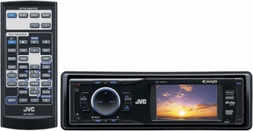 "*JVC KD-AVX11 In Dash CD/MP3 Player - JVC (KD-AVX11) In-Dash 2.7"" TFT LCD, CD/MP3/WMA/DVD Player with iPOD & Bluetooth Ready"