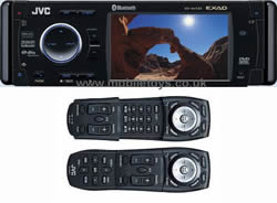 "*JVC KD-AVX33 In-dash DVD/CD Player Monitor - JVC (KD-AVX33) In-Dash 3.5"" TFT-LCD Display, CD/MP3/WMA/DVD Player with iPOD & Bluetooth Ready"