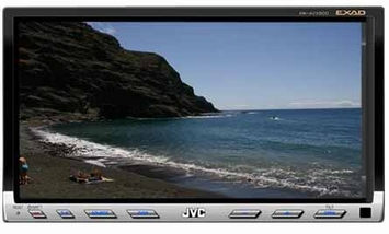 *JVC KW-AVX800 In-Dash Monitor - JVC (KW-AVX800) 7 Inch Wide Screen Touch Panel In-Dash Monitor, MP3/WMA/WAV/SD/USB Receiver
