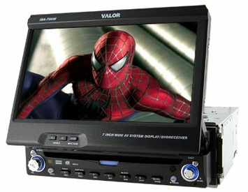 "Valor Multimedia Valor ITS-700W - Valor (IDA-700W) 7"" Touch Screen Din Size Fully Motorized In-Dash Monitor w/DVD Player"