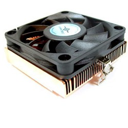 * VANTEC (CCK-6012) LOW PROFILE CPU COOLER, COPPER BASE, FOR SOCKET CPU