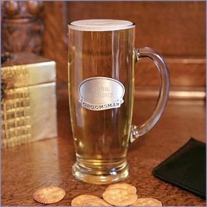 18 oz. Tankard with Pewter Medallion