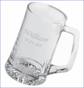 Large Personalized Beer Mug