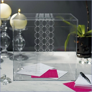 Acrylic Reception Gift Card Holder