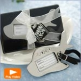 Airplane Luggage Tag Wedding Favors