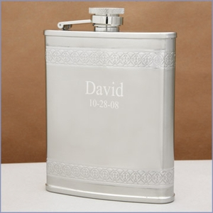 Alastaire Personalized Pocket Flask