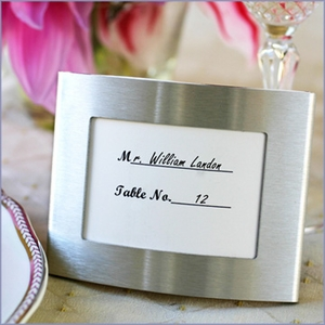 Arc Photo Frame and Placeholder Elegant Wedding Favor