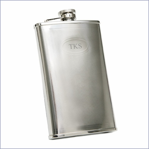 9oz. Stainless Steel Flask