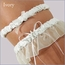 Beach Wedding Garter With Tossing Garter
