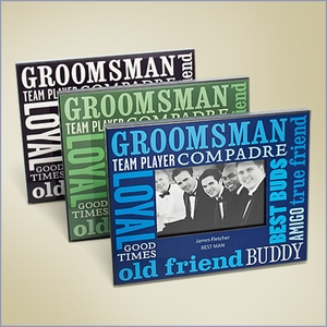 Best Bud Personalized Picture Frame