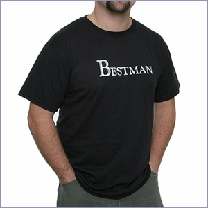 Best Man T-Shirt - Black