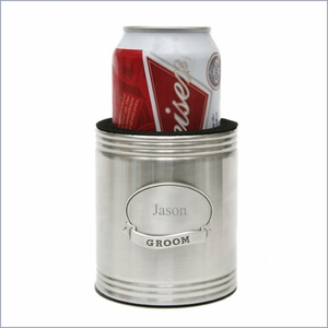Beverage Koozie with Medallion