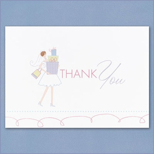 Bridal Gifts Thank You Cards