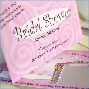Bridal Shower Scratch Off - Bridal Shower Games