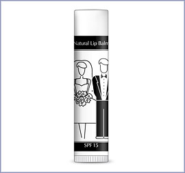 Bride and Groom Lip Balm Favor