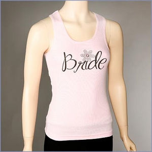 Bride Daisy Ribbed Tank Top