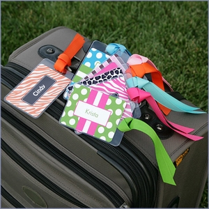 Bridesmaids Personalized Luggage Tags