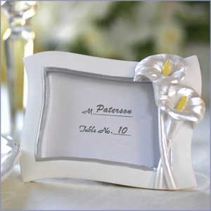 Calla Lily Place Card Holder - Photo Frame