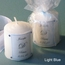 Candle Wedding Favor Embellished with Swarovski Crystals