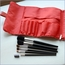 Chevron Cosmetic Bag & Brush Set