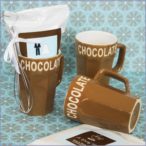 Chocolate Cups Wedding Favors