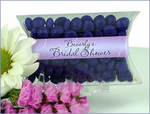Circles Bridal Pillow Candy Favors