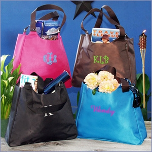 City Smart Microfiber Tote Bag