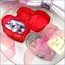 Clear Looker Box Wedding Favors - Heart