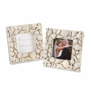 Coastal Views Shell Covered Photo Frame
