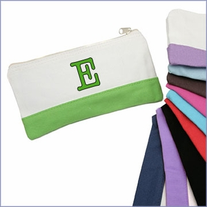 Colorblock Cosmetic Bag