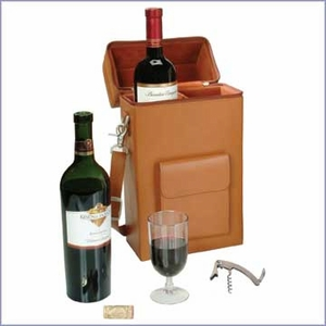 Connoisseur Leather  Wine Carrier