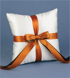 Custom Ivory Ring Bearer Pillow