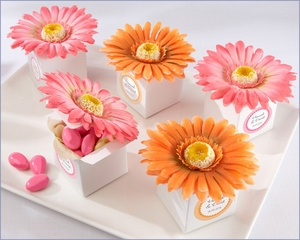 Daisy Delight Gerbera Daisy Favor Box